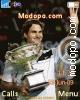 Roger Federer Tema para Sony Ericsson Z610i